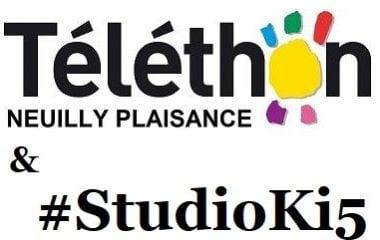 Votre studio & le Téléthon Neuilly Plaisance